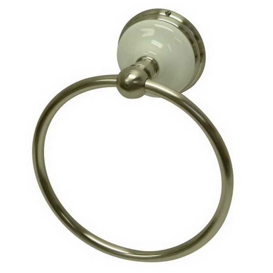 Kingston Brass Victorian Satin Nickel Wall Mount Towel Ring