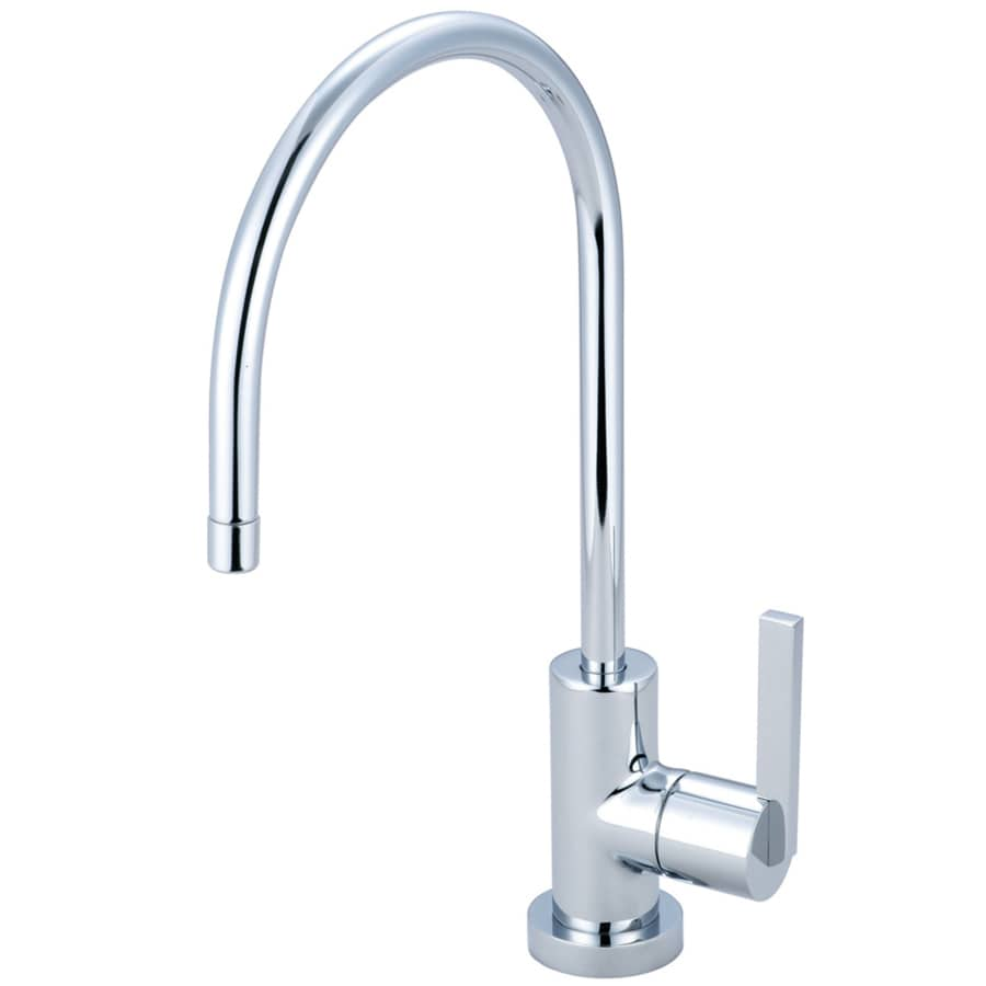Shop Kingston Brass Continental Polished Cold Water Dispenser With Hi Arc Spout At