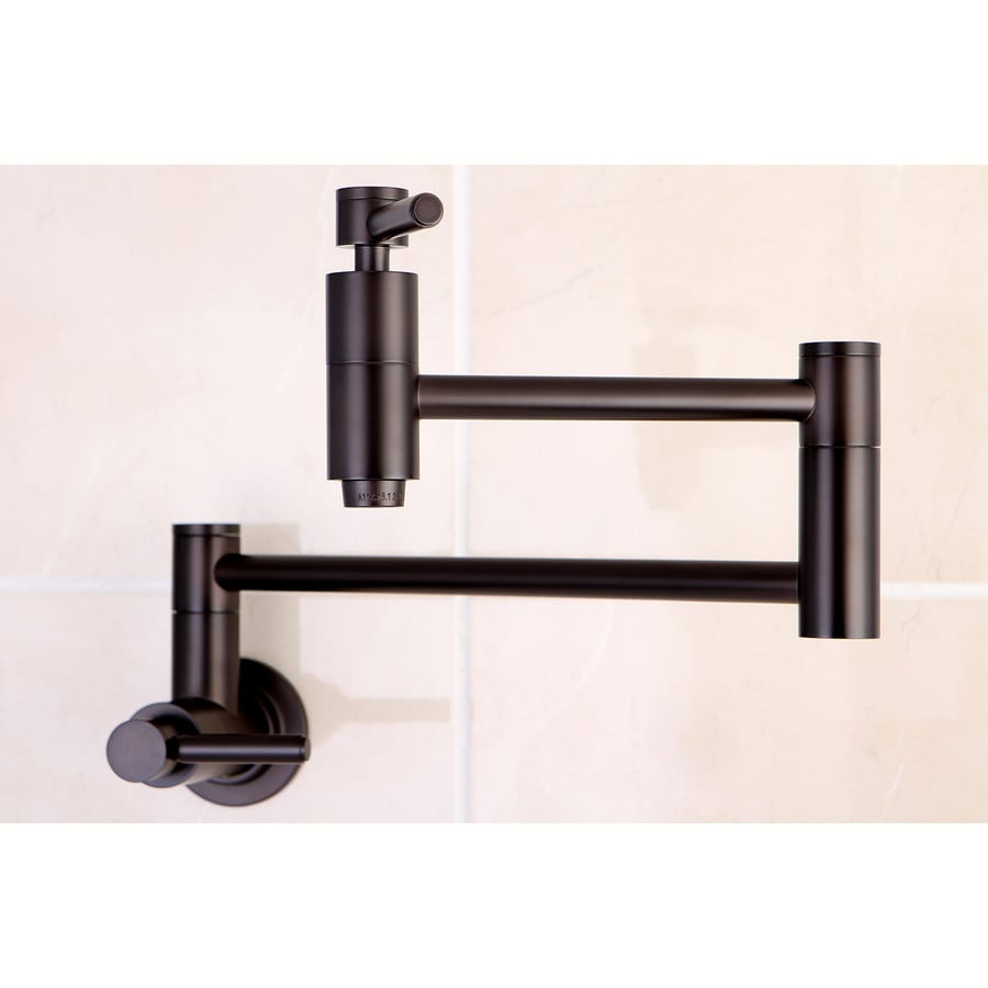 Shop Kingston Brass Concord Oil-Rubbed Bronze 2-Handle Wall Mount ...