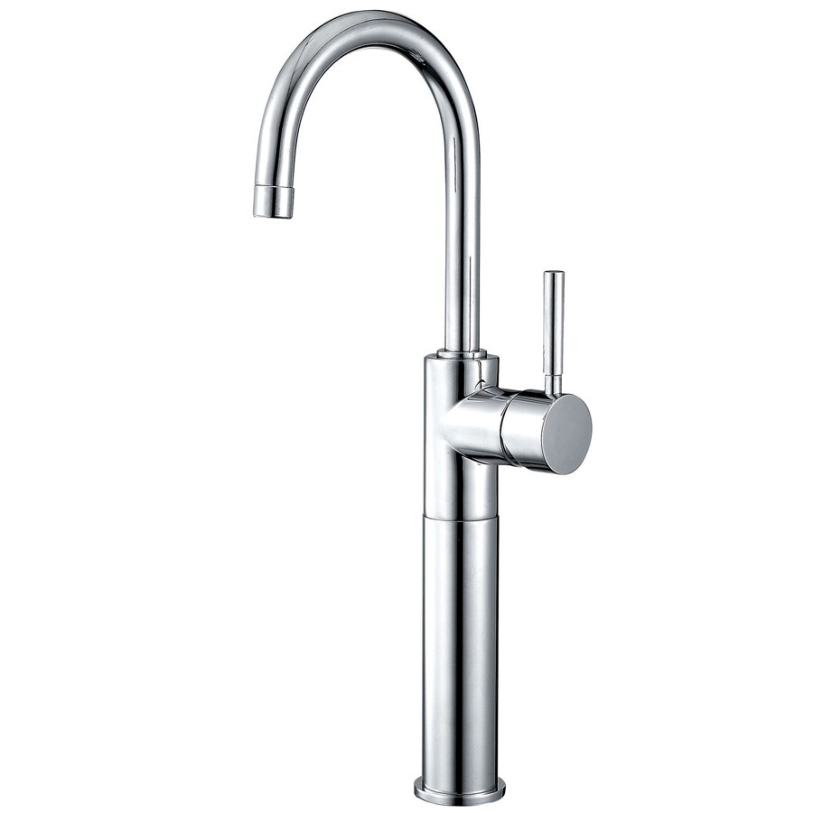 Kingston Brass Concord Chrome 1-Handle Single Hole Bathroom Faucet