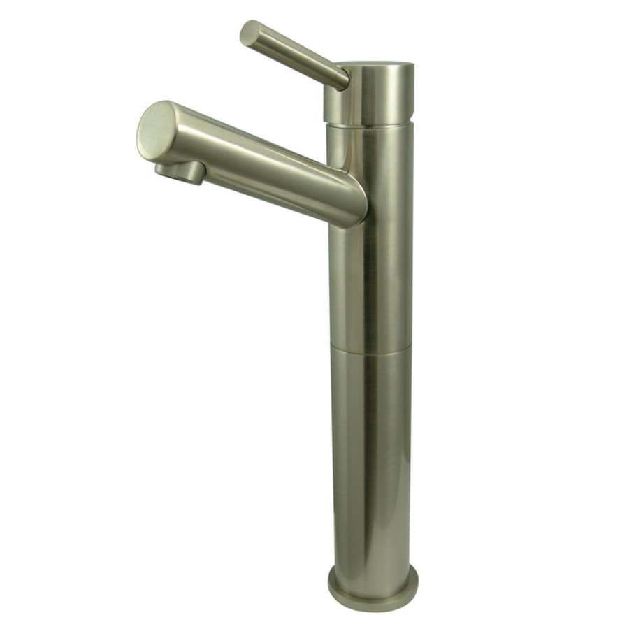 Kingston Brass Concord Satin Nickel 1-Handle Single Hole Bathroom Faucet