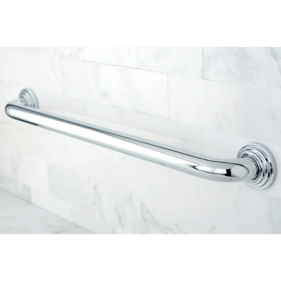 Kingston Brass Milano 12-in Chrome Wall Mount Grab Bar