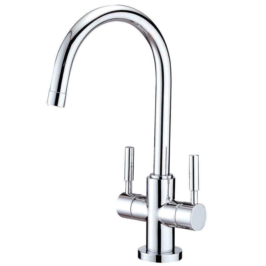 Kingston Brass Concord Chrome 2-Handle Single Hole Bathroom Faucet