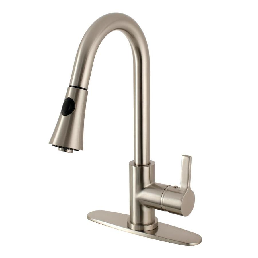 Pull Down Kitchen Faucet With Volume