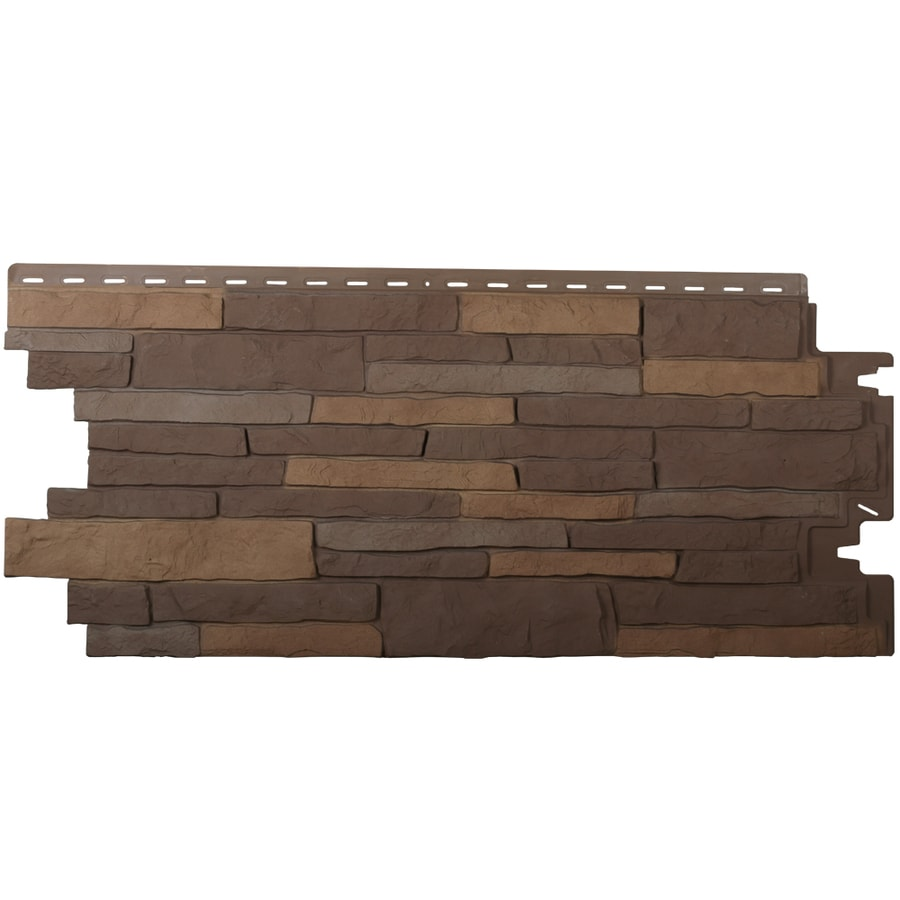 Exteria Building Products Stacked Stone Premium Sedona Bluff Faux Stone Veneer