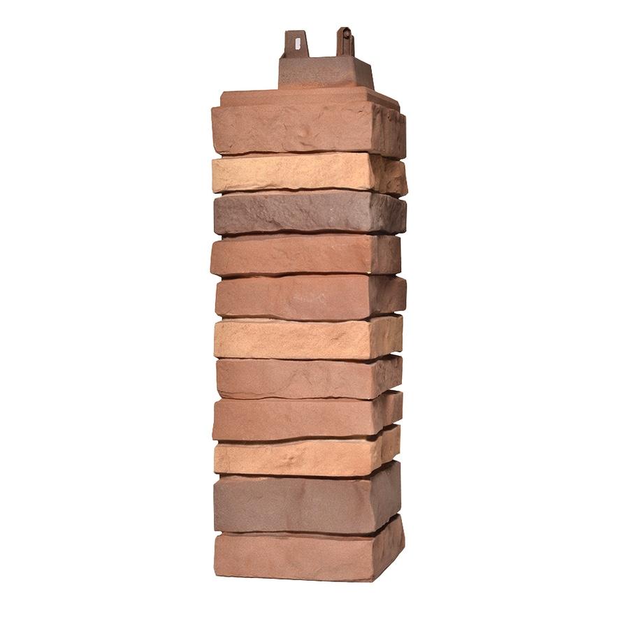 Exteria Building Products Stacked Premium 21-in x 6.5-in Santa Fe Molded Corner Stone Veneer Trim
