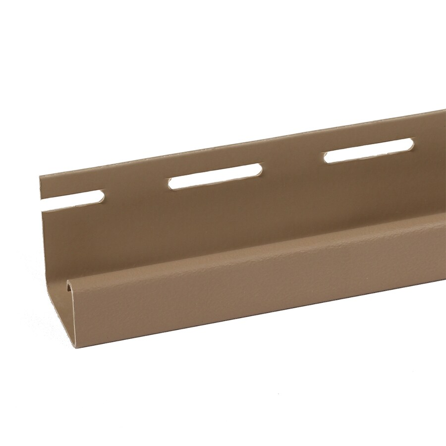 Exteria Building Products 2-Pack 4-in x 75-in Rocky Mountain Clay J-Channel Stone Veneer Trim