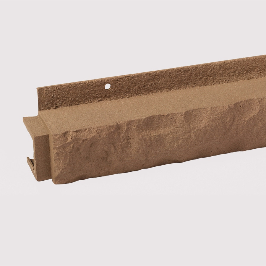 Exteria Building Products Premium Masonry 1.5-in x 33-in Sand Ledge Stone Veneer Trim