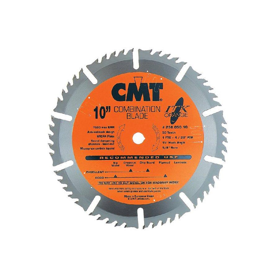 CMT 10-in 50-Tooth Continuous Carbide Circular Saw Blade