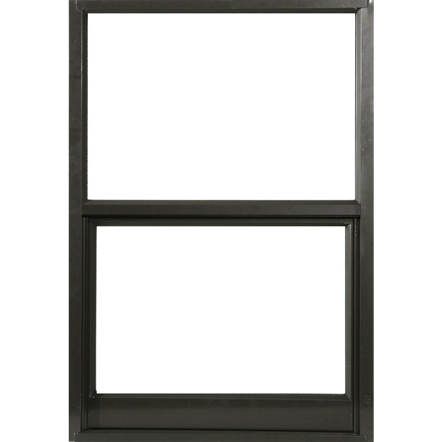West Palm 580 Series Aluminum Single Pane Single Strength Replacement Single Hung Window (Rough Opening: 38-in x 64-in; Actual: 37-in x 63-in)