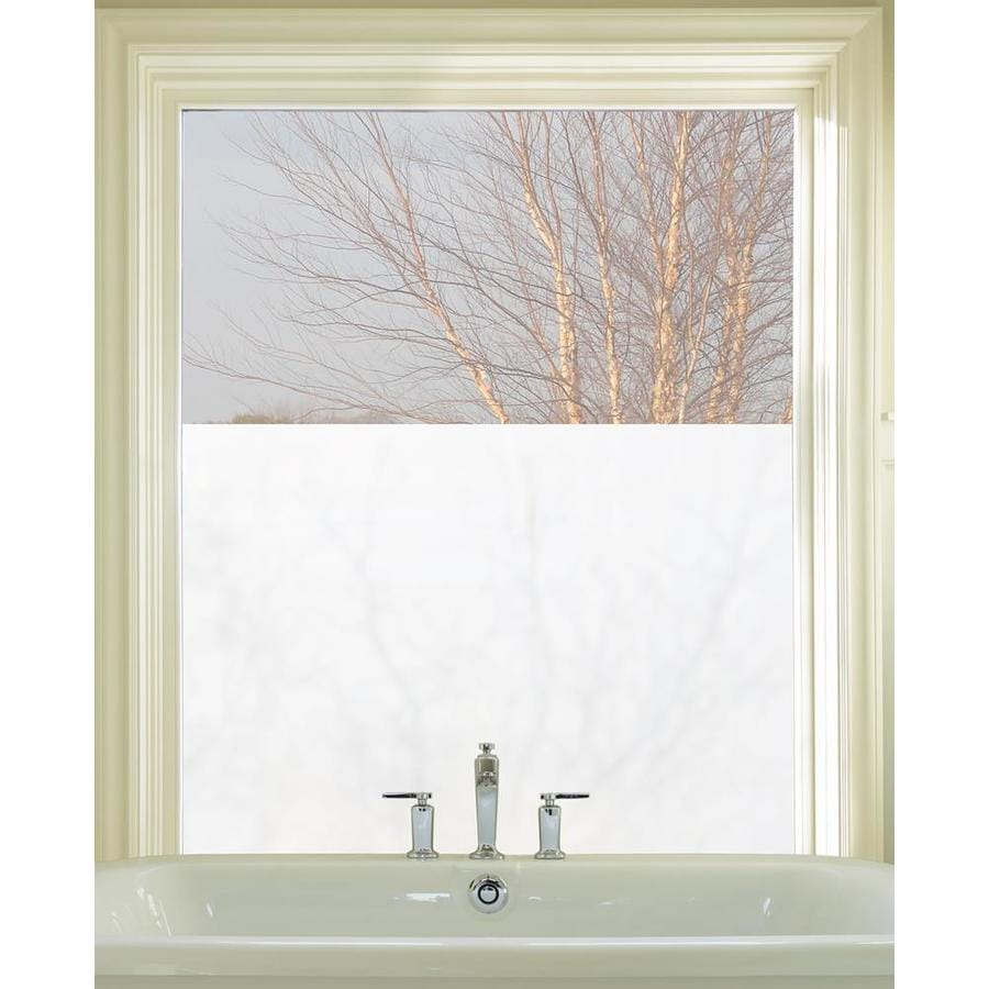 Artscape 24-in W x 36-in L Textured Etched Glass Privacy/Decorative Static Cling Window Film