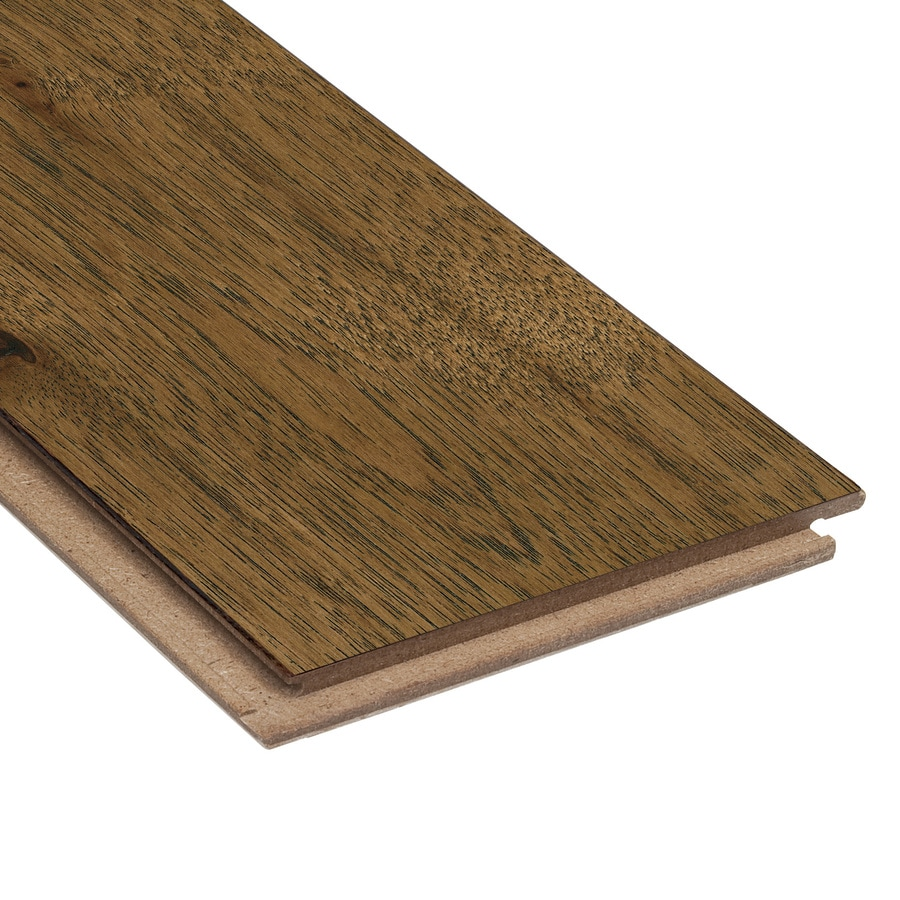 Style Selections Brown Wirebrushed Hickory Hardwood Flooring (26.25-sq ft)