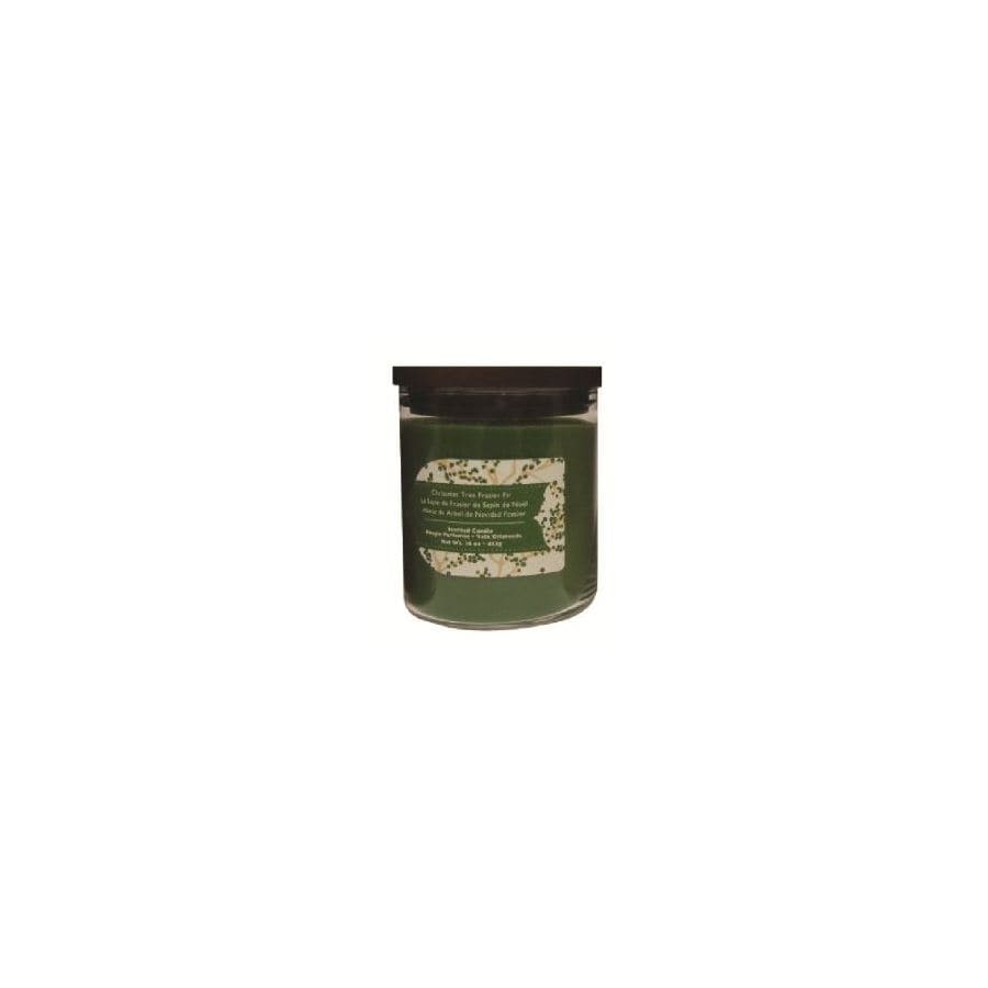 allen + roth 16 oz Frasier Fir Green Jar Candle