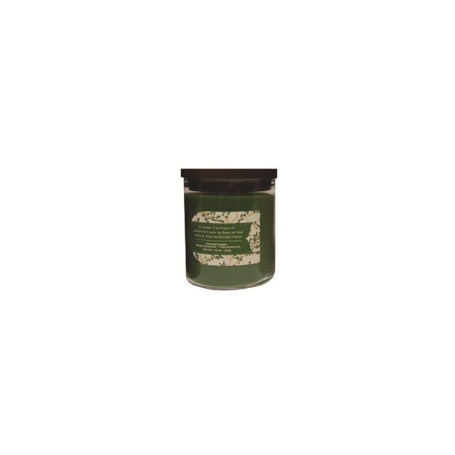 allen + roth 16 oz Frasier Fir Green Jar Candle
