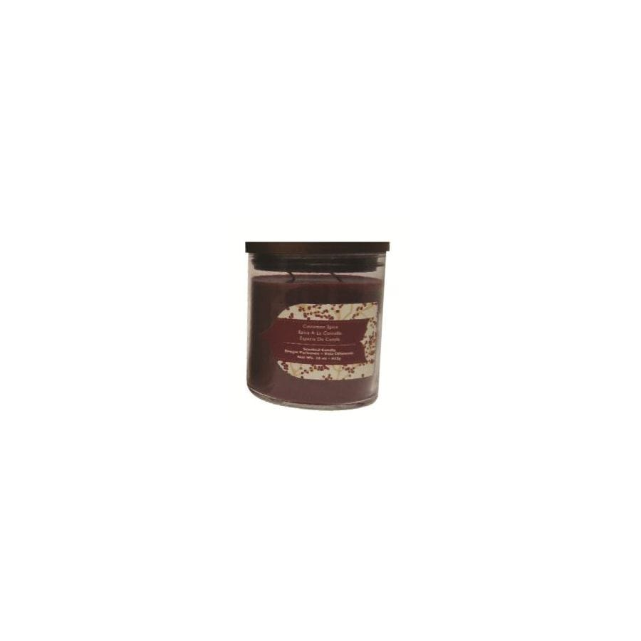 allen + roth 16 oz Cinnamon Spice Red Jar Candle