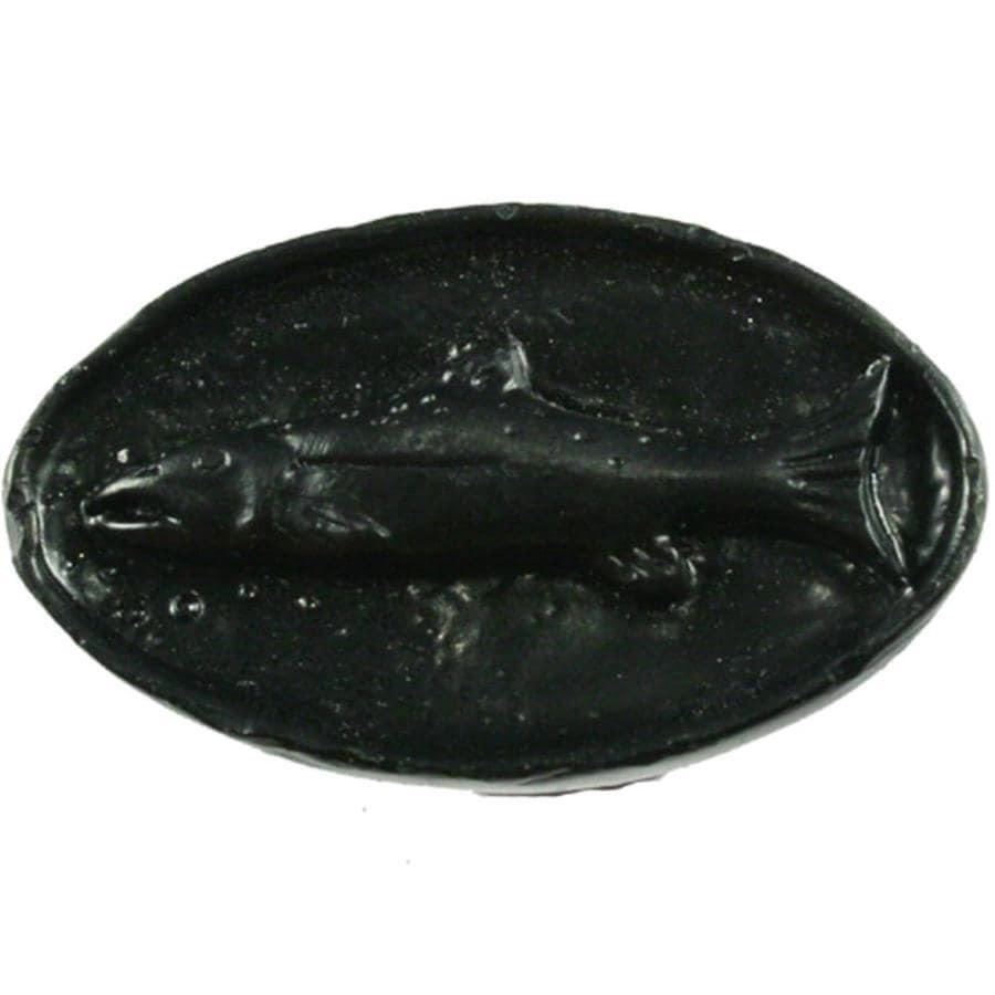 Sierra Black Oval Cabinet Knob