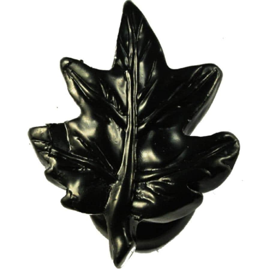 Sierra Black Cabinet Knob