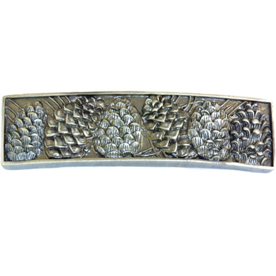 Sierra 3-in Center-to-Center Pewter Cabinet Pull