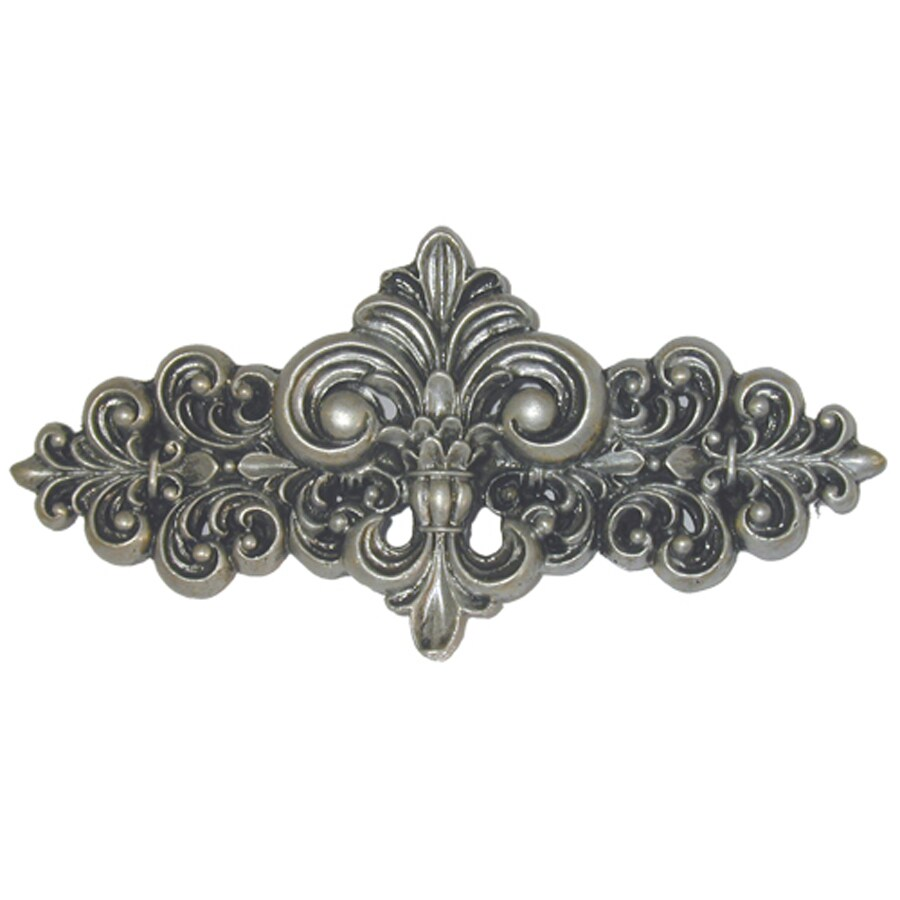 Sierra 3-in Center-to-Center Antique Brass Cabinet Pull