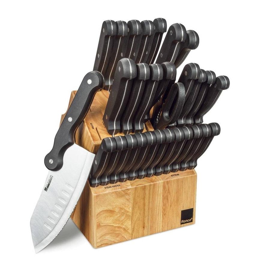 Ronco Black Cutlery Set