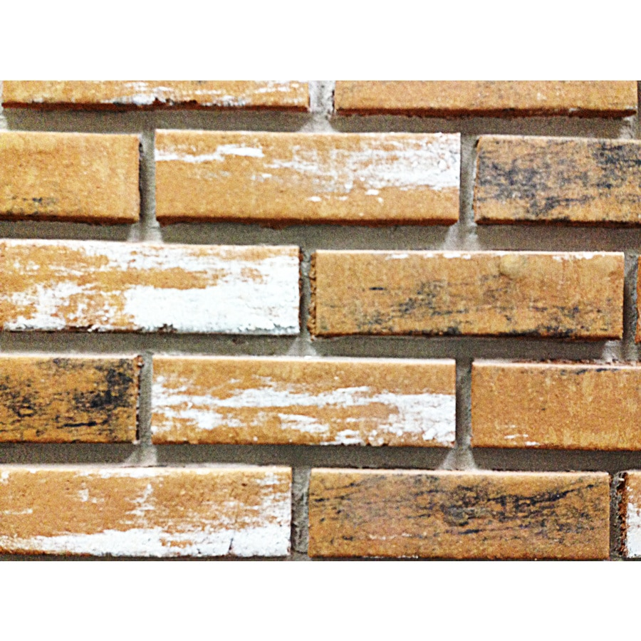 Z-Brick 2.3-in x 8-in Inca Old Chicago Individual Piece Brick Veneer