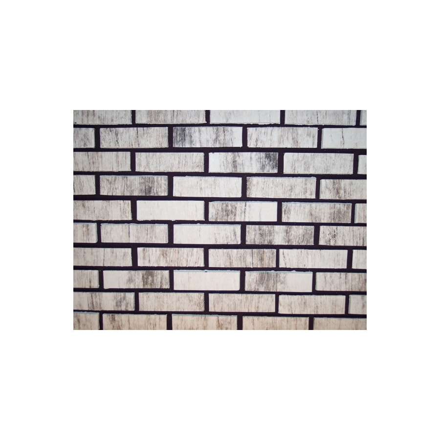 Shop Z Brick 23 In X 8 In Americana Silver Individual
