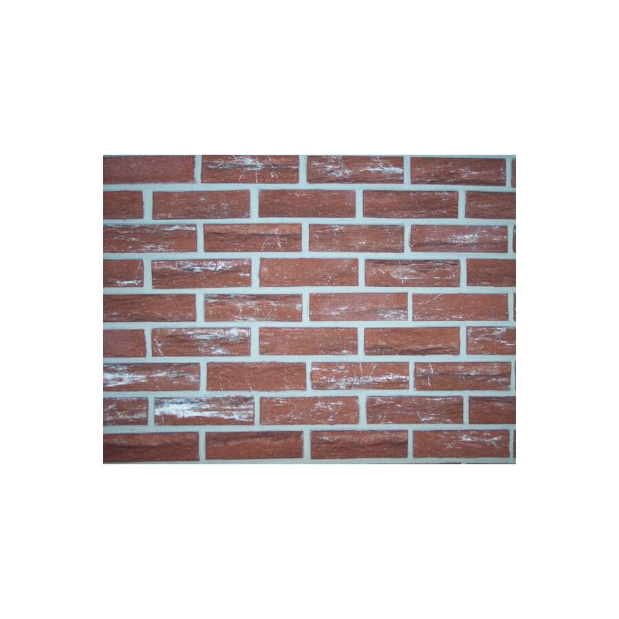 Z-Brick Design Images 2.3-in x 8-in Burnt Sienna Individual Piece Brick Veneer