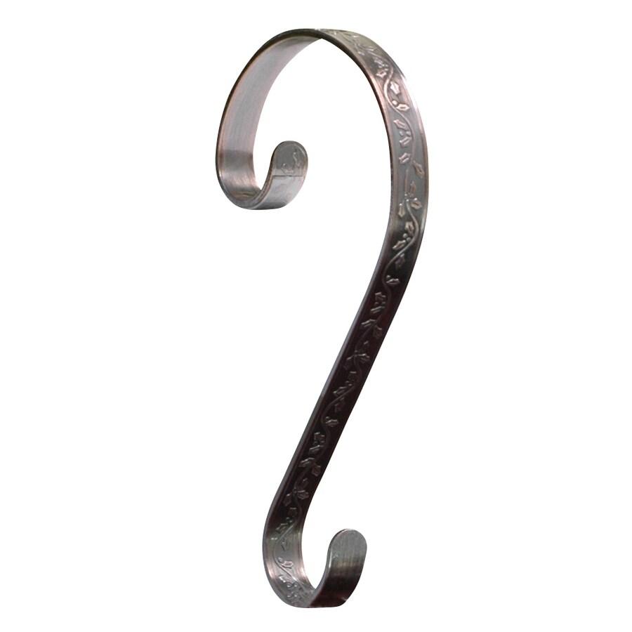 Haute Decor 2-Pack Decorative Metal Stocking Holder