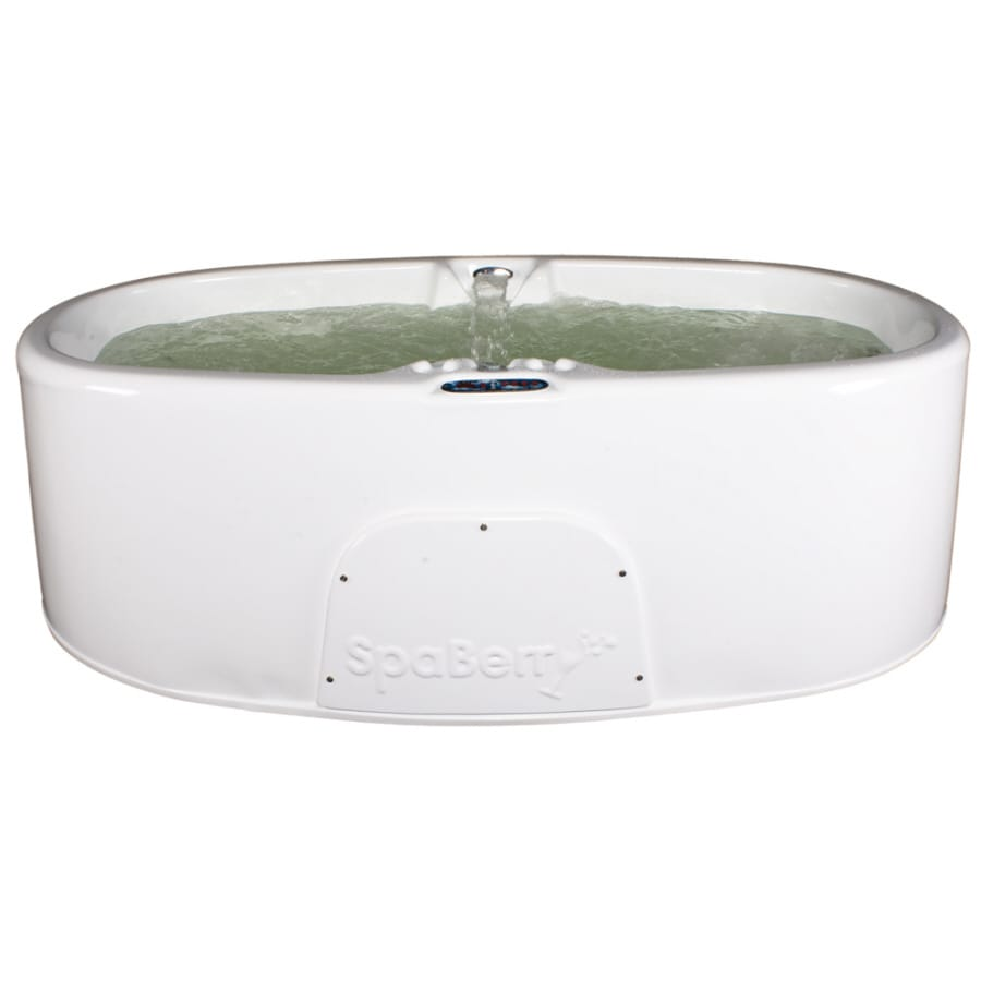 Shop spaberry oval hot tub at for Oval garden tub