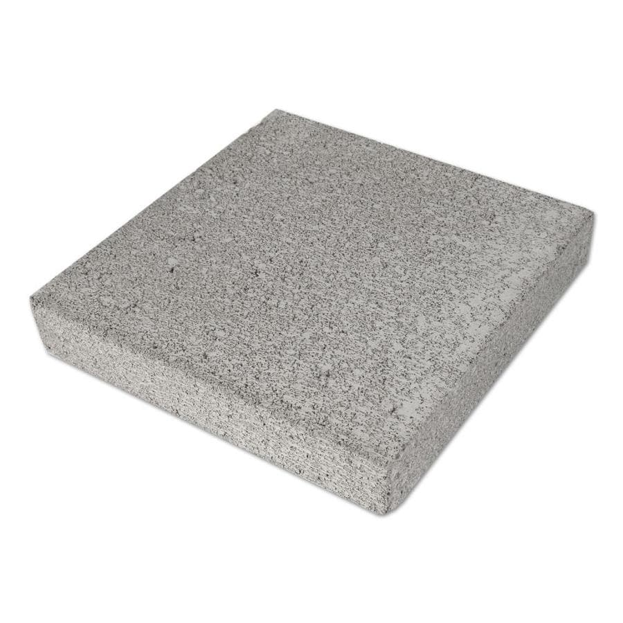 Natural Gray Color Patio Stone (Common: 12-in x 12-in; Actual: 11.625-in x 11.625-in)
