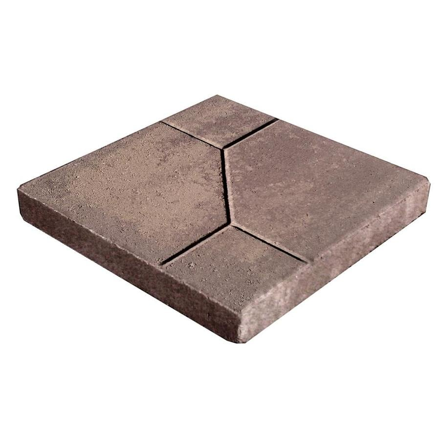 Tan/Charcoal Color Patio Stone (Common: 16-in x 16-in; Actual: 16-in x 16-in)