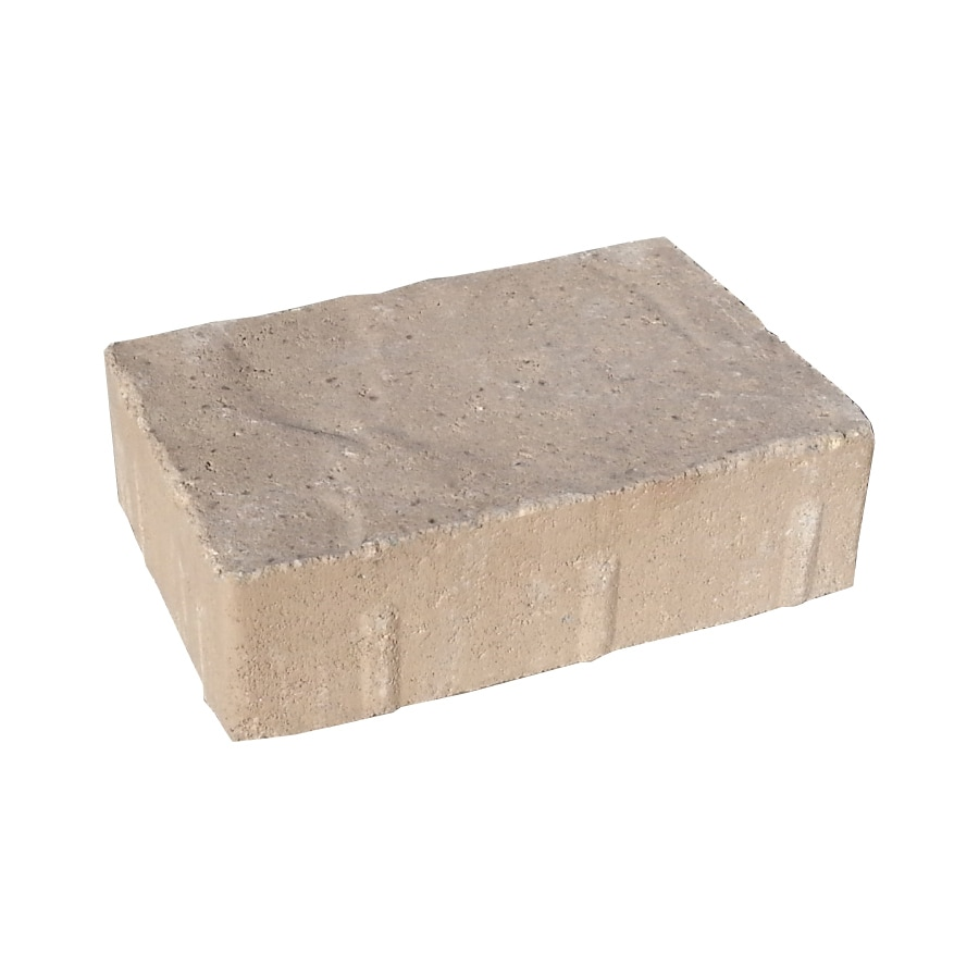 Country Manor Brown Stone Paver (Common: 6-in x 9-in; Actual: 5.5-in x 8.25-in)