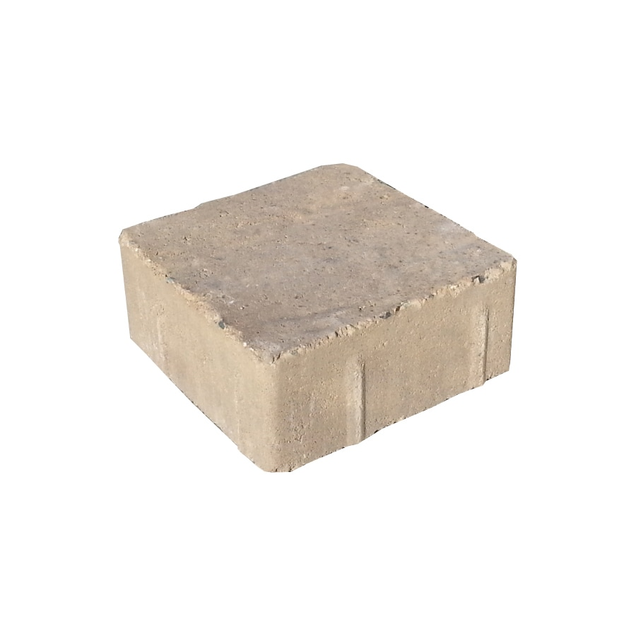 Country Manor Brown Stone Paver (Common: 6-in x 6-in; Actual: 5.5-in x 5.5-in)