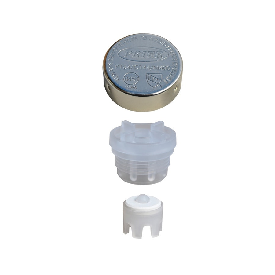 Shop Prier Products Chrome Vacuum Breaker Replacement Part at Lowes.com