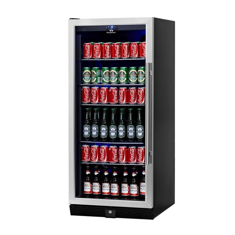 KingsBottle 10.88-cu ft Stainless Built-In/Freestanding Commercial Beverage Center