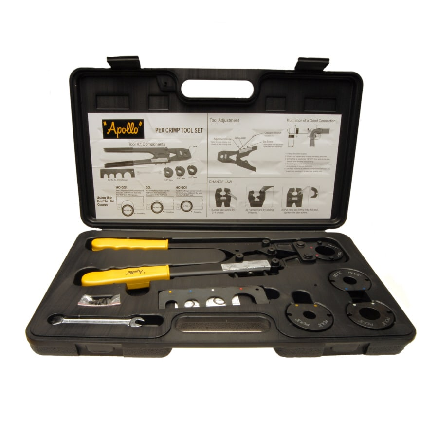 Shop plumbing wrenches specialty tools at lowes apollo multi head pex crimping tool greentooth Images
