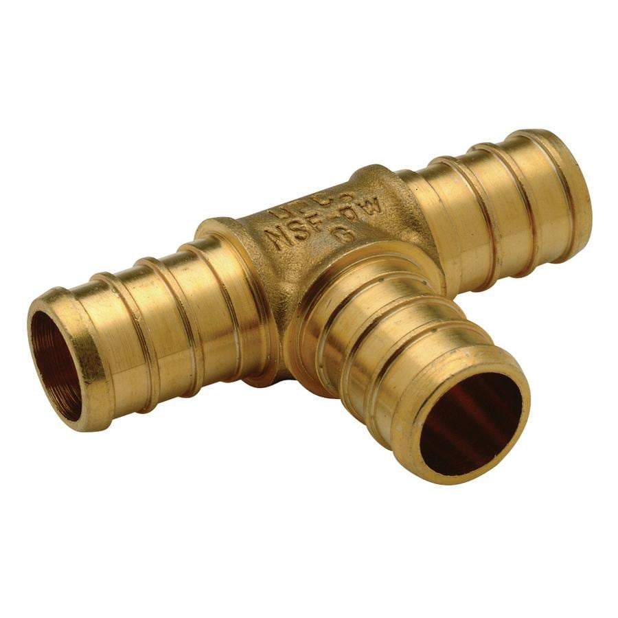 Vanguard 1/2-in Dia Brass PEX Tee Crimp Fitting