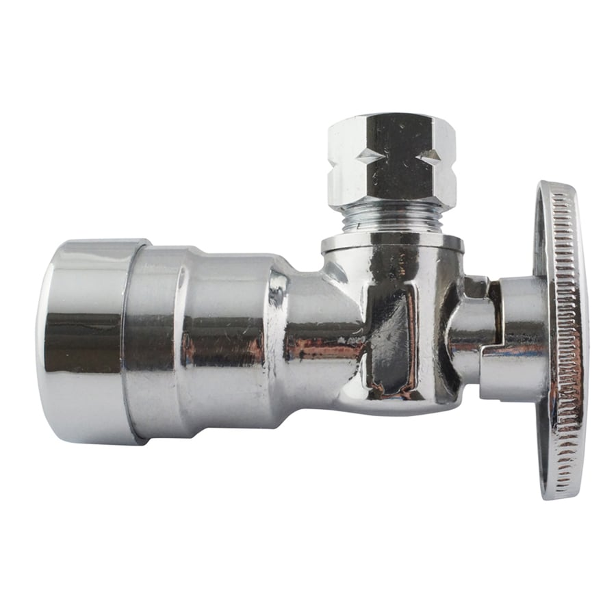 Apollo 3/8-in x 1/2-in dia PEX Angle Supply Valve Compression Fitting