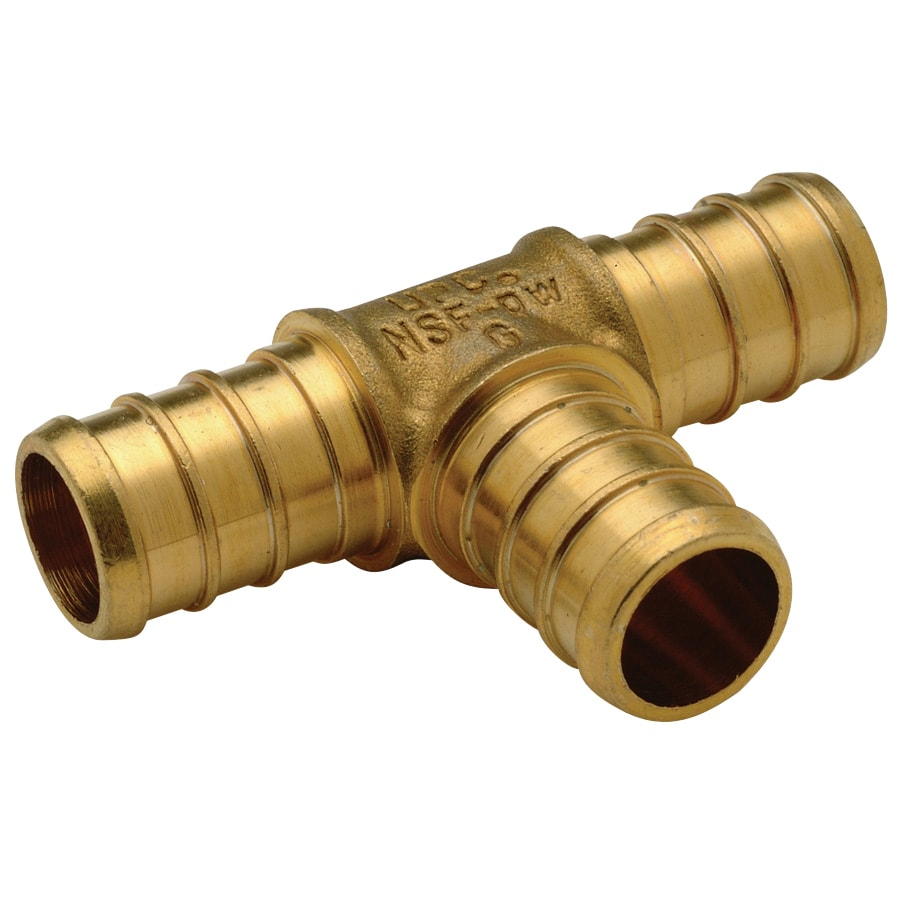 Apollo 10-Pack 1/2-in Tee Barb Fittings