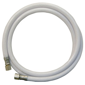 Apollo 5-ft 1/4-in-in OD Inlet x 1/4-in-in Pipe Thread Outlet PVC Ice Maker Connector