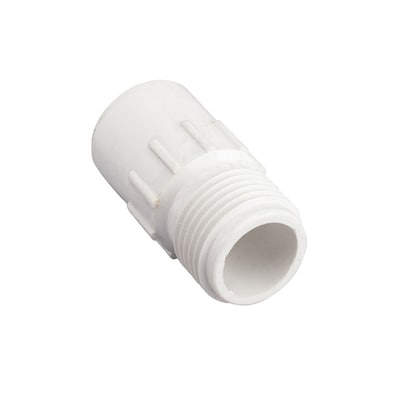 Apollo 1/2-in PVC Drip Irrigation Male Adapter at Lowes com