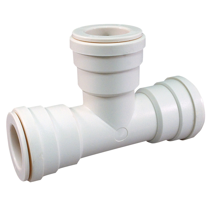 Blue Hawk 3/4-in dia PEX Tee Compression Fitting