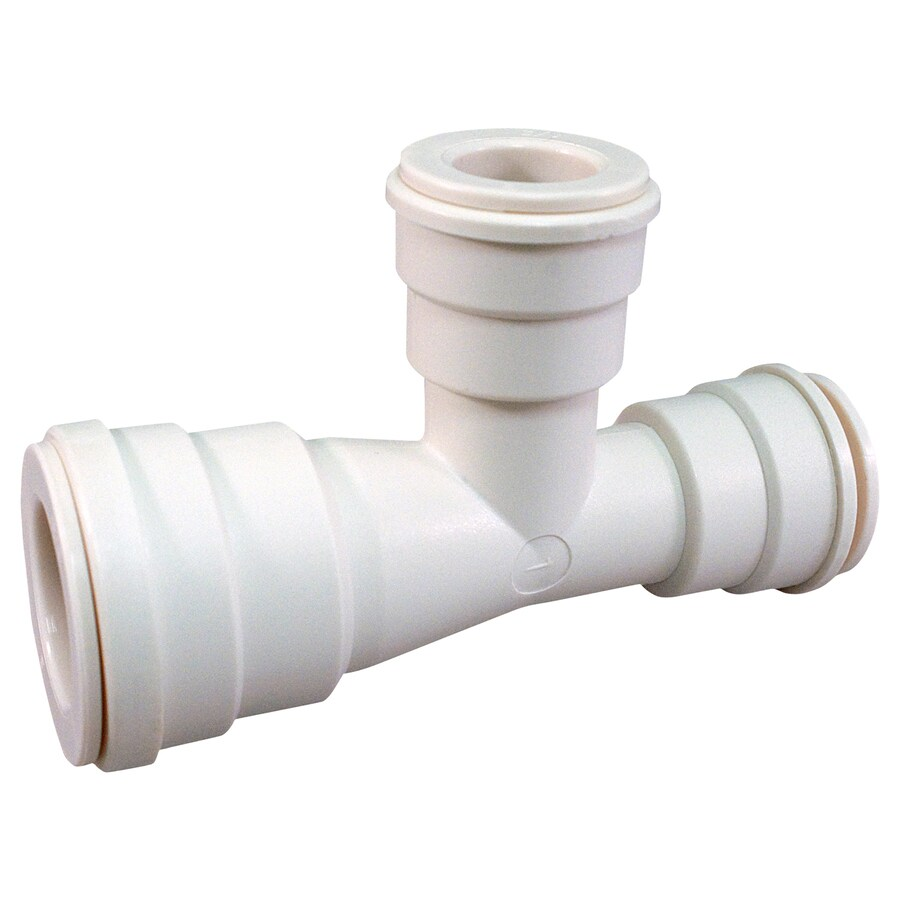 Blue Hawk 3/4-in x 1/2-in x 1/2-in dia PEX Tee Compression Fitting