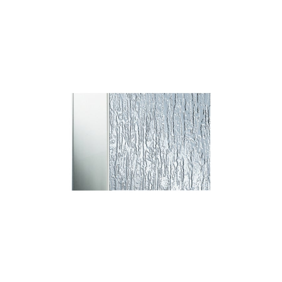Shop Aqua Glass Chrome Framed Pivot Shower Door At Lowes