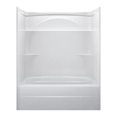 Delta White Acrylic One Piece Bathtub Common 32 In X 60 In