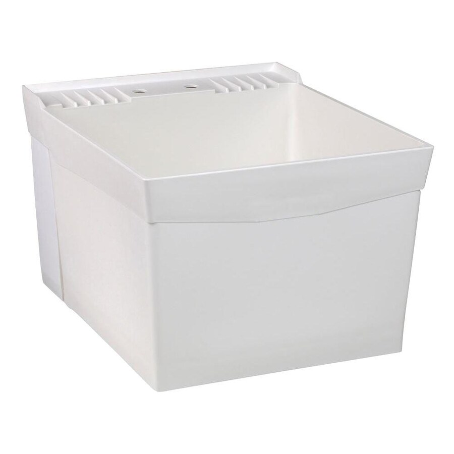 Shop Mustee 20 In X 24 In 1 Basin White Wall Mount
