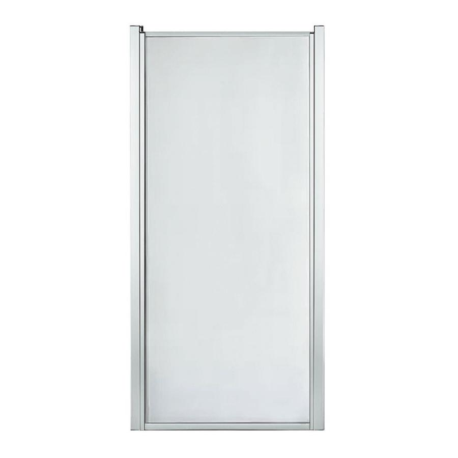 Mustee Stylemate 29 In To 31 In W Framed Pivot Chrome