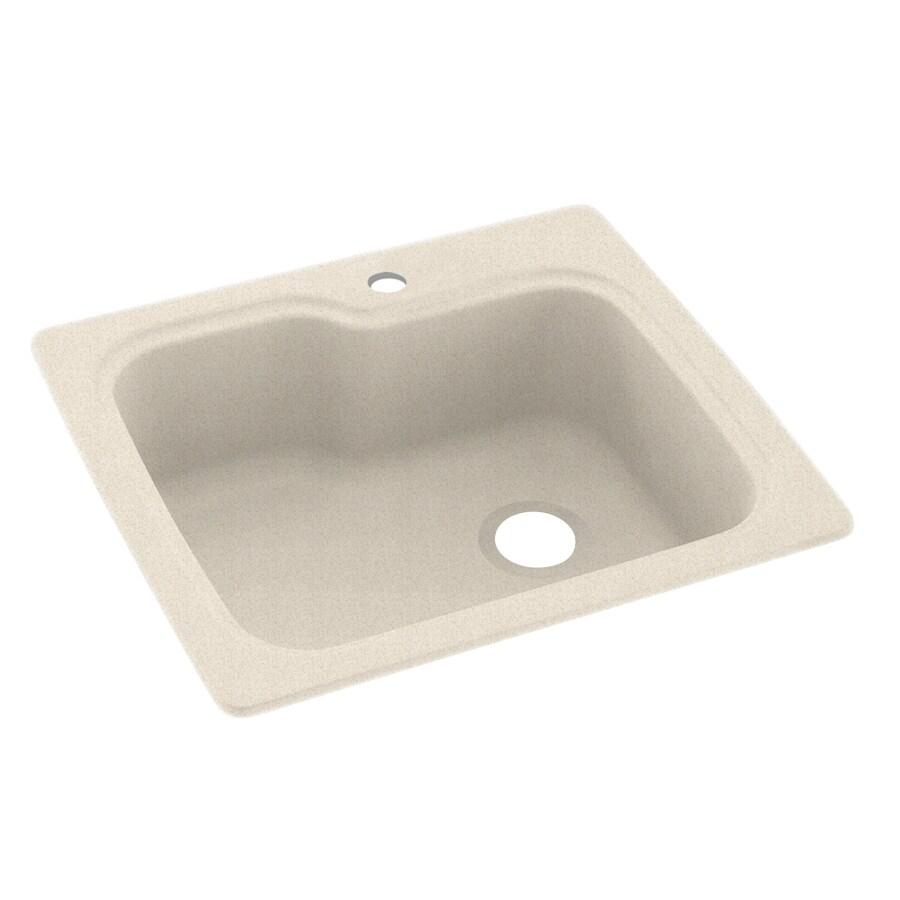 Shop Swanstone Single-Basin Drop-in or Undermount Composite ...
