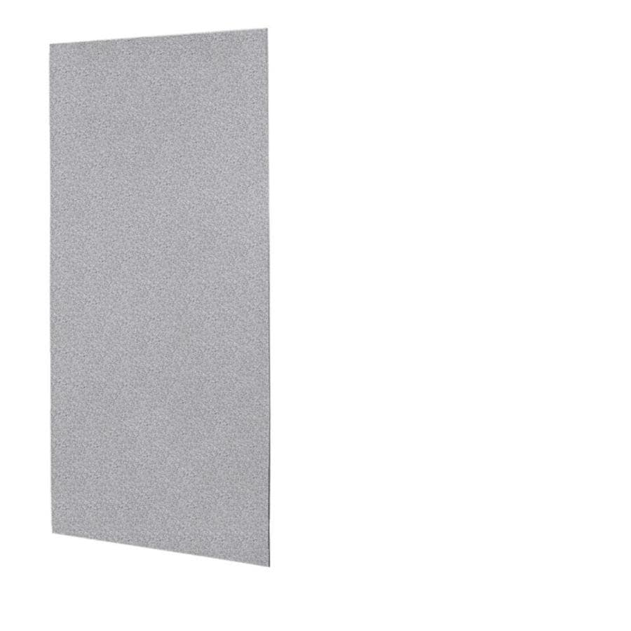 Swanstone Gray Granite Shower Wall Surround Back Wall Panel (Common: 0.25-in x 36-in; Actual: 72-in x 0.25-in x 36-in)