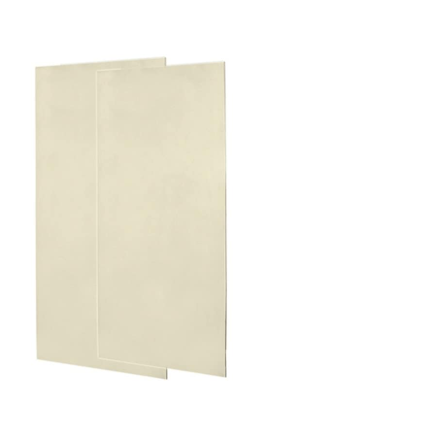 Swanstone Bone Shower Wall Surround Side Wall Panel Kit (Common: 0.25-in x 36-in; Actual: 72-in x 0.25-in x 36-in)